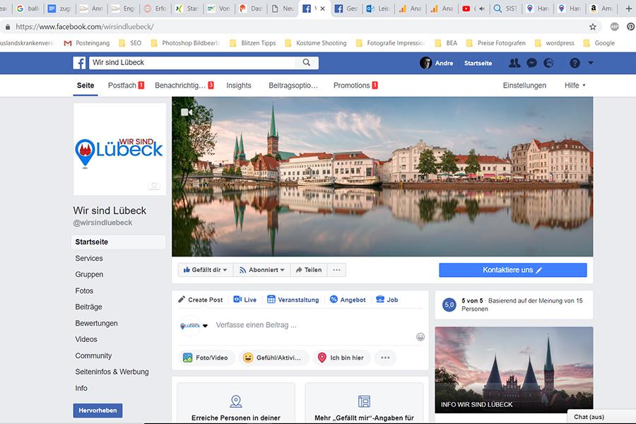 Aufwand Facebook Fanpage