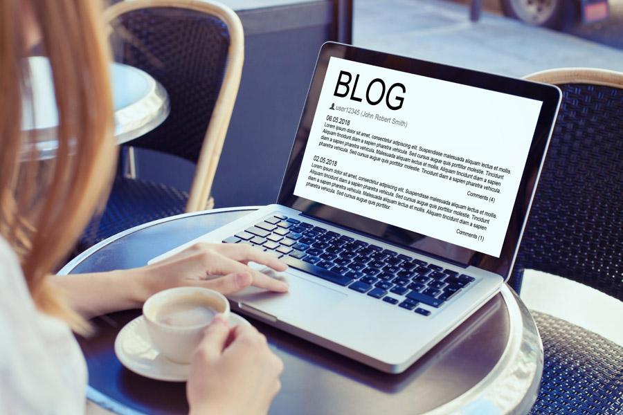 Content Marketing für einen Blog