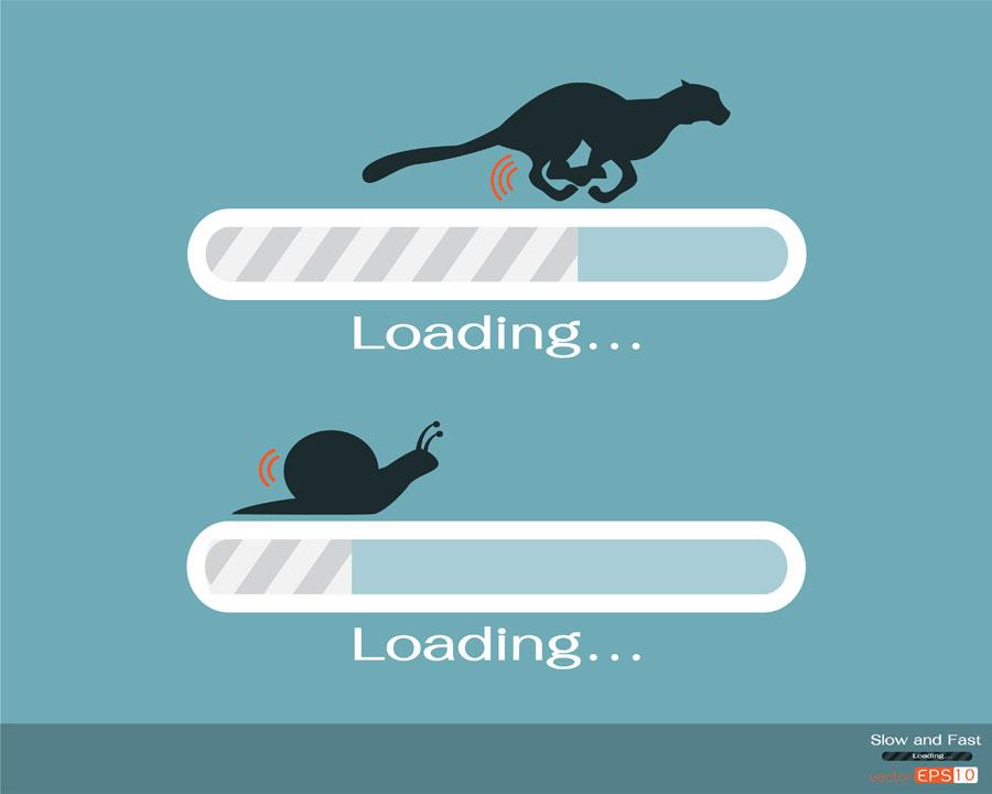 Schnelle oder langsame Webseite?